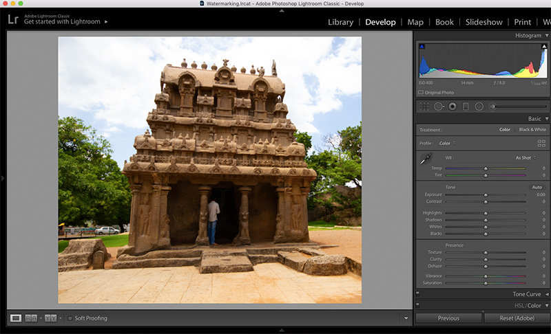 Perspective Correction in Lightroom