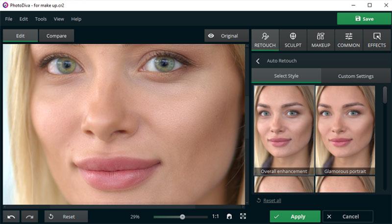 PhotoDiva Pro Image Retouching