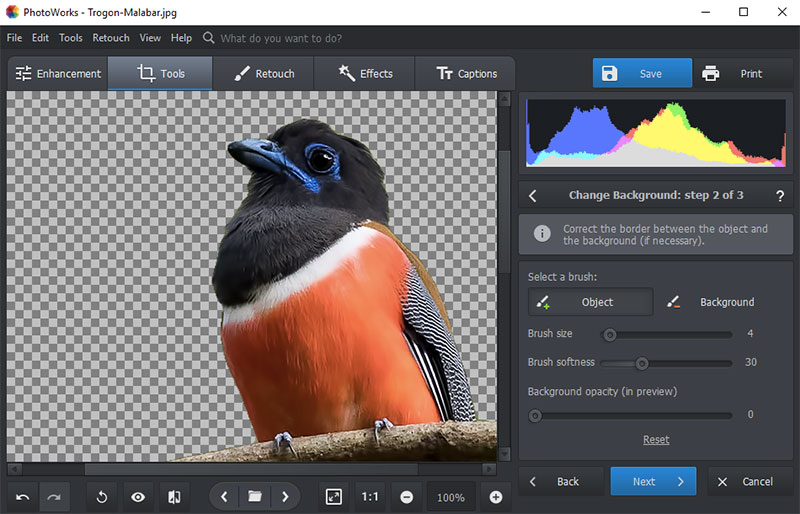 Photoworks Change Background-Step2