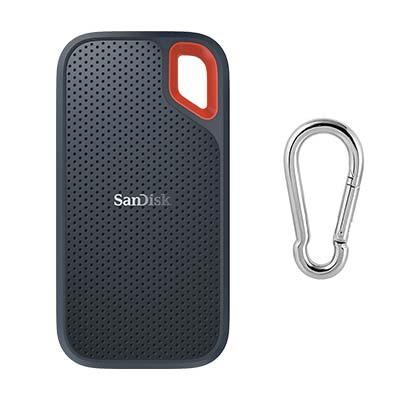 SanDisk Extreme SSD with Carabiner