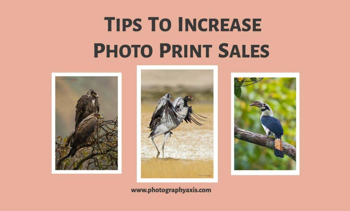 Tips to increase photo print sales