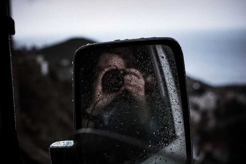 capturing images from car during rain