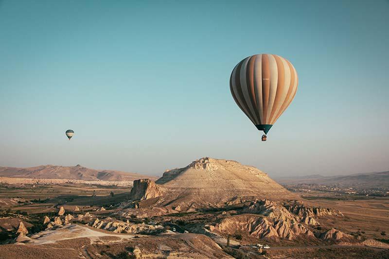 hot air balloon photography