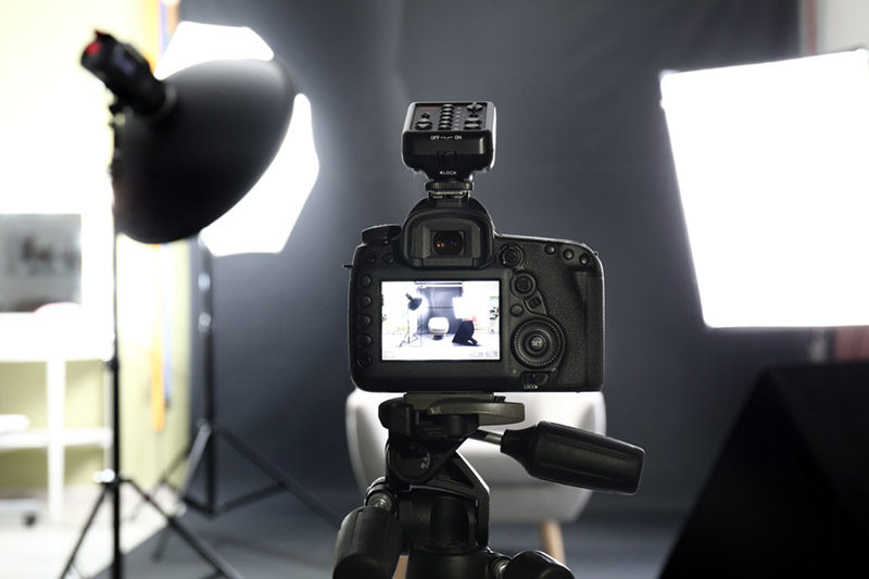 lighting set up for corporate headshot photography
