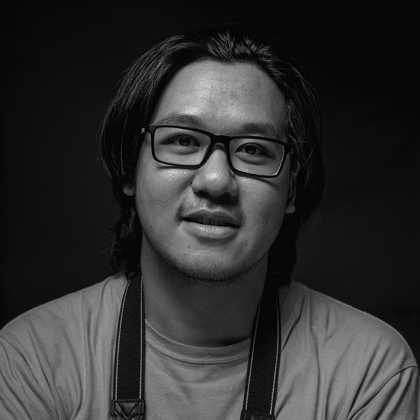 male casual headshot photography